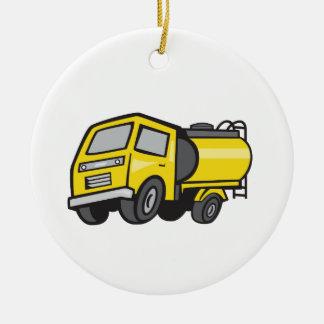 Baby Fuel Tanker Cartoon Ceramic Ornament