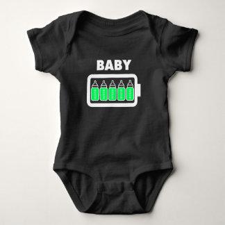 Baby Full Bottle Battery Baby Bodysuit