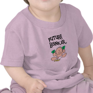 Baby Future Banker T-shirts and Gifts