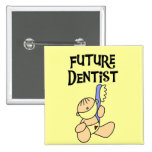 Baby Future Dentist T-shirts and Gifts Button