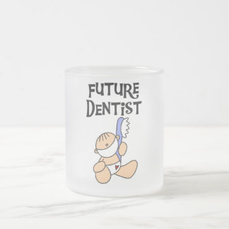 Baby Future Dentist T-shirts and Gifts Frosted Glass Coffee Mug