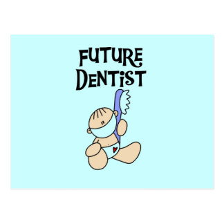 Baby Future Dentist T-shirts and Gifts Postcard