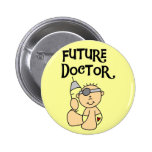 Baby Future Doctor T-shirts and Gifts Button