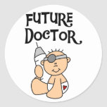 Baby Future Doctor T-shirts and Gifts Sticker