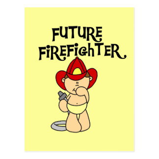 Baby Future Firefighter Tshirts and Gifts Postcard