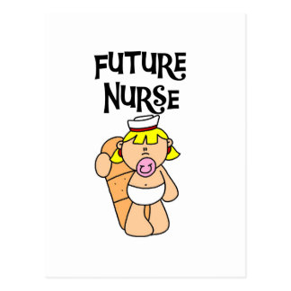 Baby Future Nurse T-shirts and Gifts Postcard