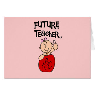 Baby Future Teacher Tshirts and Gifts Card