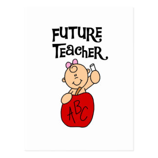 Baby Future Teacher Tshirts and Gifts Postcard