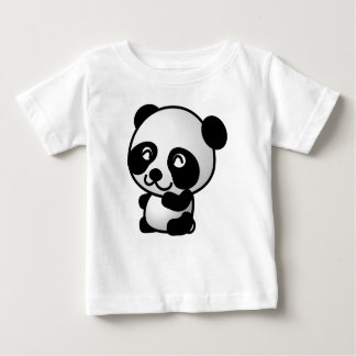 Baby garmentses. Panda Baby T-Shirt