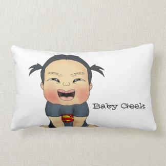 Baby Geek (Girl) Throw Pillow