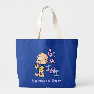 Baby Gemini Large Tote Bag