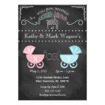 Baby Gender Reveal Invitation in Chalkboard