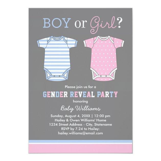 Custom Gender Reveal Invites Templates | Babyfavors4u