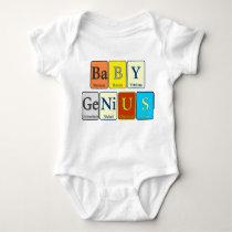 Baby Genius - Periodic Design Baby Bodysuit