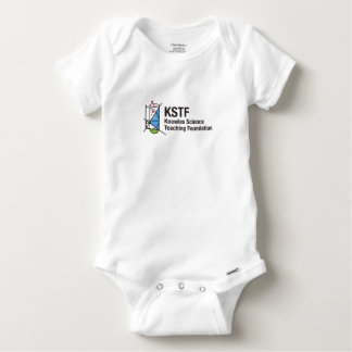 Baby Gerber Cotton One-Piece with Snaps - KSTF Baby Onesie