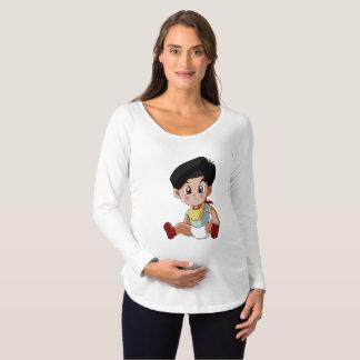 Baby Ghenny Maternity Long Sleeve T-Shirt