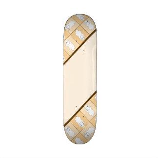Baby Ghost Playing Pattern Skate Board Decks