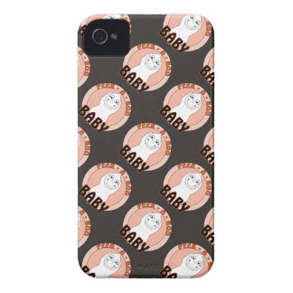 Baby Ghost Playing With Peek A Boo Saying Case-Mate iPhone 4 Case