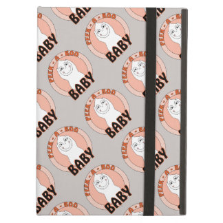 Baby Ghost Playing With Peek A Boo Saying iPad Covers