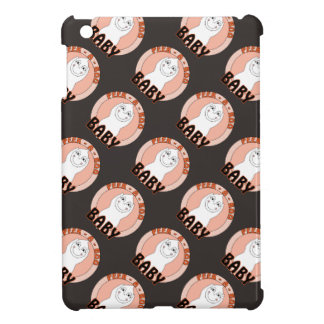 Baby Ghost Playing With Peek A Boo Saying iPad Mini Cases