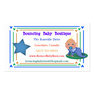 Baby Gift Boutique / Shop Business Cards
