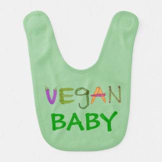 Baby Gift for Vegan Expecting Mother Vegan Baby Baby Bib
