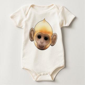 Baby Ginger Monkey Romper