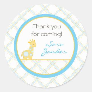 Baby Giraffe Address Label/Favor Sticker