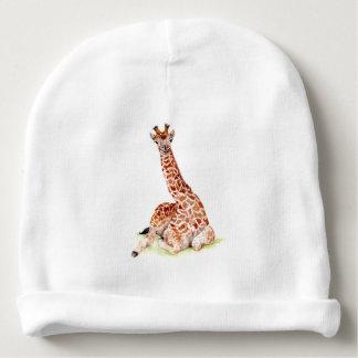 Baby Giraffe Baby Beanie