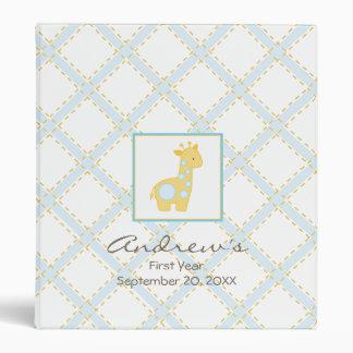 Baby Giraffe Baby Book Binders