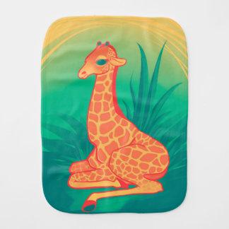 Baby Giraffe Baby Burp Cloth