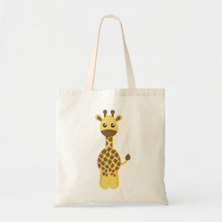 Baby Giraffe Budget Tote Bag
