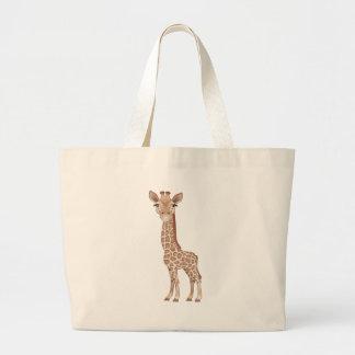 Baby Giraffe Jumbo Tote Bag