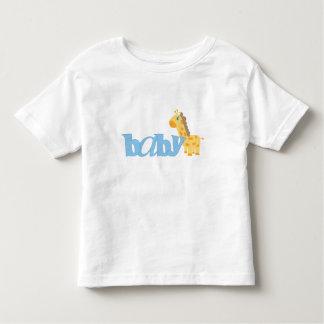 Baby Giraffe (blue) T Shirt