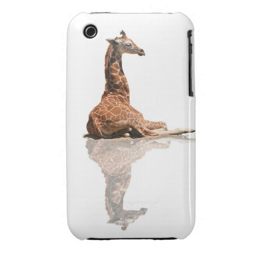 BABY GIRAFFE iPhone 3 CASE