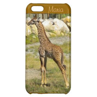 Baby Giraffe iPhone 5c case