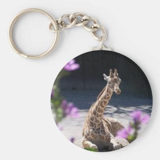 baby giraffe keychains