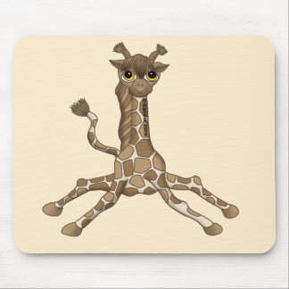Baby Giraffe Mouse Pad