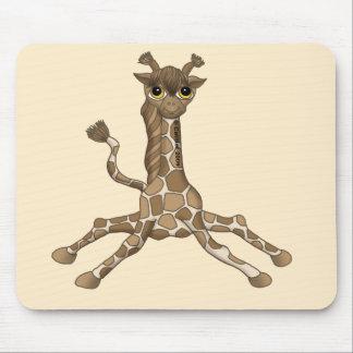 Baby Giraffe Mouse Pad