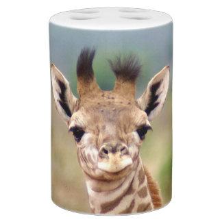 Baby giraffe picture, Kenya, Africa | Bathroom Set