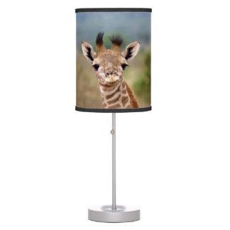 Baby giraffe picture, Kenya, Africa | Desk Lamp
