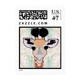 Baby Giraffe Postage