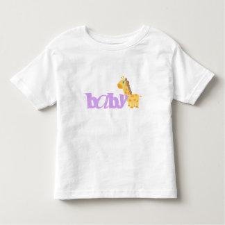 Baby Giraffe (purple) T-shirt
