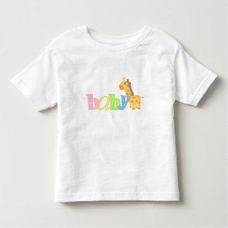 Baby Giraffe (rainbow) Toddler T-shirt