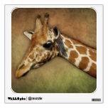 Baby Giraffe Room Graphic