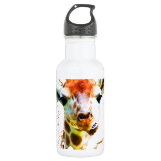 Baby Giraffe Stainless Steel Water Bottle
