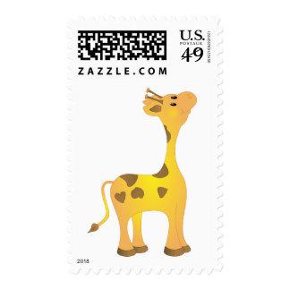 Baby Giraffe Stamp