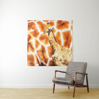 Baby Giraffe Tapestry