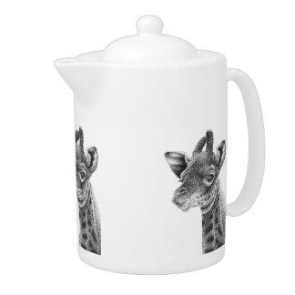 Baby Giraffe Teapot