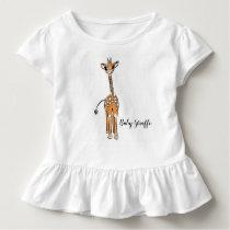 Baby Giraffe Toddler T-shirt